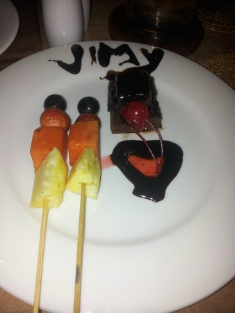 Svarga Resort Lombok: Dessert