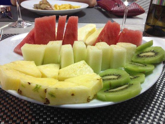Hotel Tio Pepe: Variedad de frutas!!! Qué refrescante