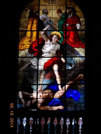 Duomo di Milano: Stained glass window