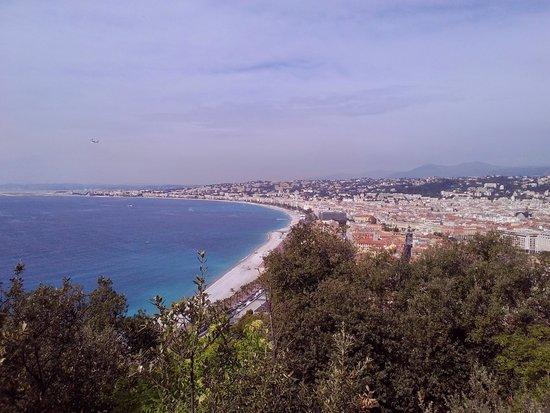 Colina del Castillo: View if the Mediterranean Sea and the Promenade