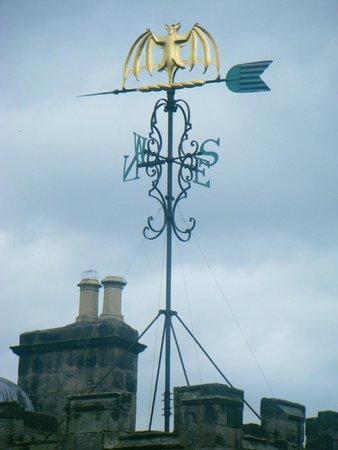 Chillingham Castle: Rooftop