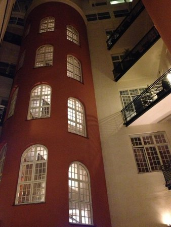 Hotel Kung Carl, BW Premier Collection: The internal courtyard