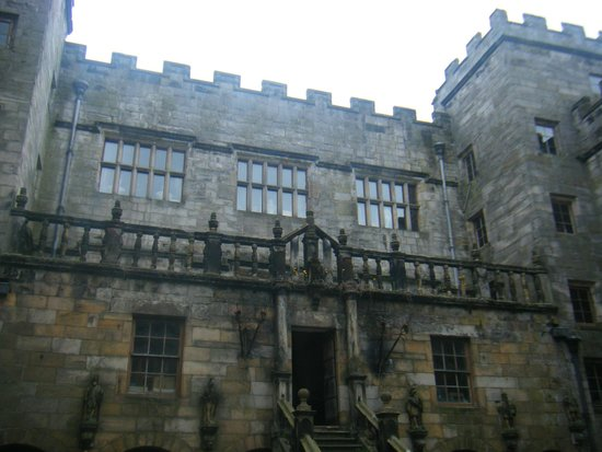 Chillingham Castle: Views from the courtyard