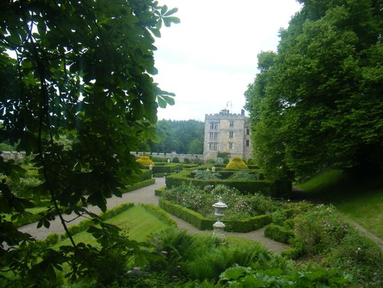 Chillingham Castle: Views from the gardens