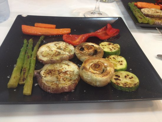 Verduras a la plancha qu sabor que presentacion for Que cuisiner a la plancha