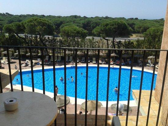 Barcelo Punta Umbria Beach Resort: vista desde la habitacion