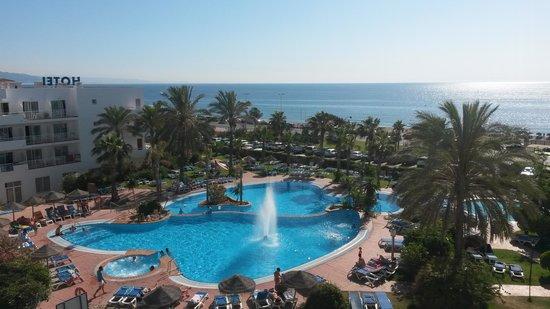 Hotel Best Oasis Tropical: VISTA DESDE LA HABITACION