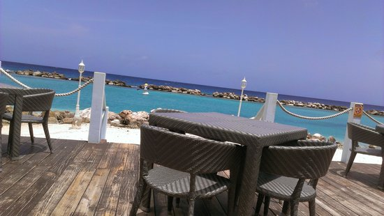 Sunscape Curacao Resort Spa & Casino: The view from the grill