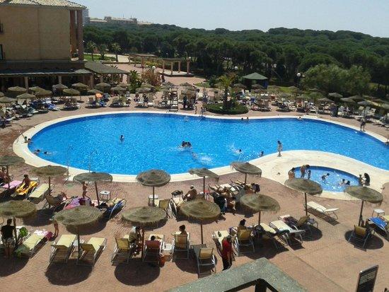 Barcelo Punta Umbria Beach Resort: vita desde la habitacion