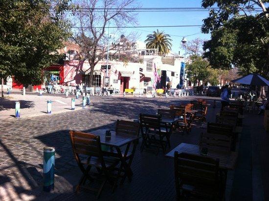Palermo Viejo: Mesas