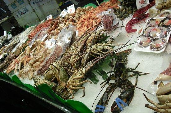 Mercado de Sant Josep de la Boqueria: QUE ESCOJO? -1