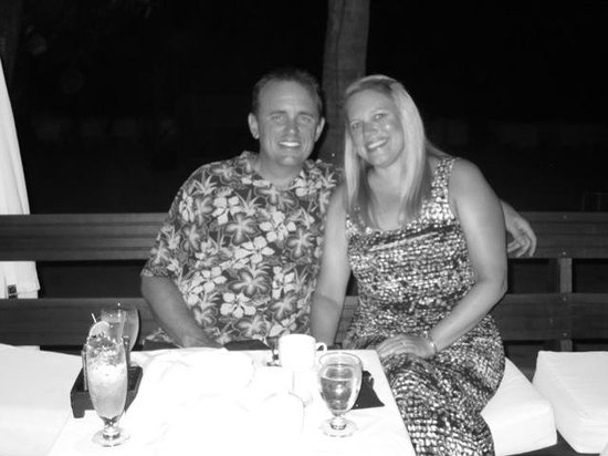 Couples Negril: Last night at Heliconia Restaurant