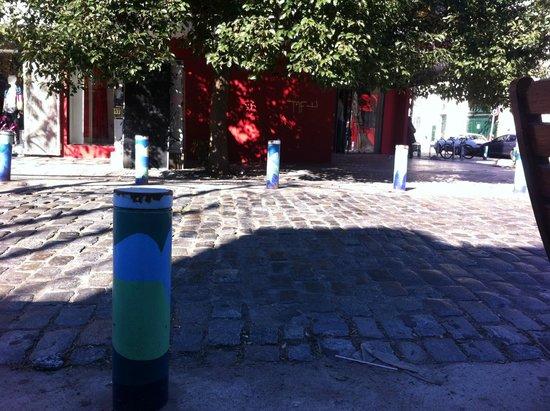 Palermo Viejo: Detalhe da proteção da rua