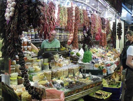 Mercado de Sant Josep de la Boqueria: ESCOJE