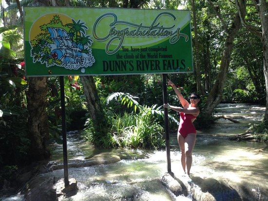 Dunn's River Falls and Park : MIssion Accomplished