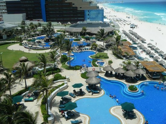 JW Marriott Cancun Resort & Spa: View from room 603!