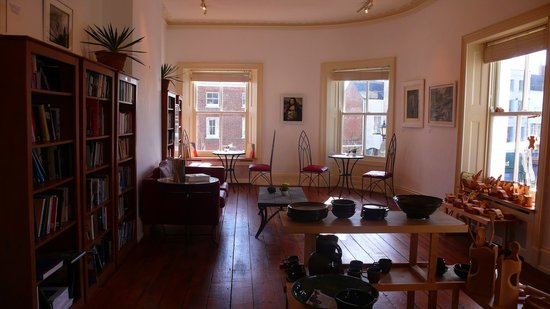 The George Cafe: Gallery Upstairs