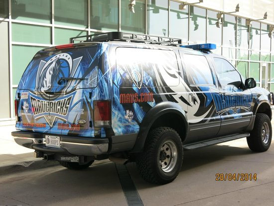 American Airlines Center: Maverick's car