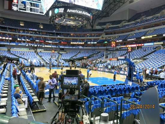 American Airlines Center : Before the game