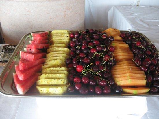 Poiano Resort Hotel: frutta e verdure a volonta' e di qualita'