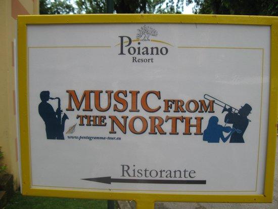 Poiano Resort Hotel: musica dal vivo