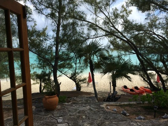 Pigeon Cay Beach Club: From front door of The Winston Cottage