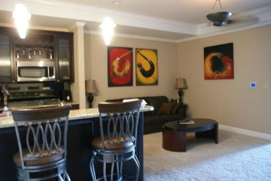 Camden on the Lake Resort, Spa, & Yacht Club: Kitchen/Living Area