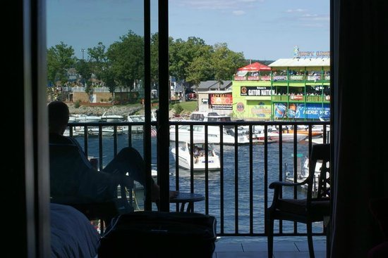 Camden on the Lake Resort, Spa, & Yacht Club: View from our room
