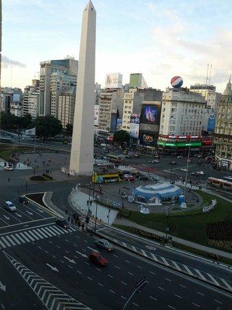 Park Silver Obelisco: Vista do quarto - Obelisco