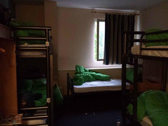 YHA London St Pancras : La habitación compartida