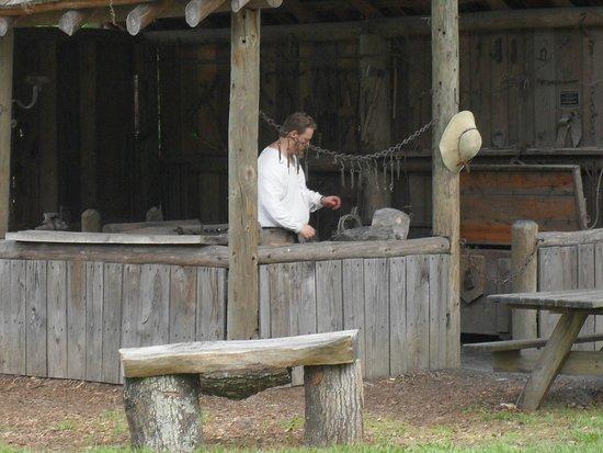 Mission San Luis de Apalachee : Blacksmith