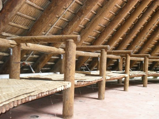 Mission San Luis de Apalachee : Inside Seating and Resting Platforms in Council House