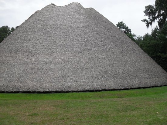 Mission San Luis de Apalachee : Council House