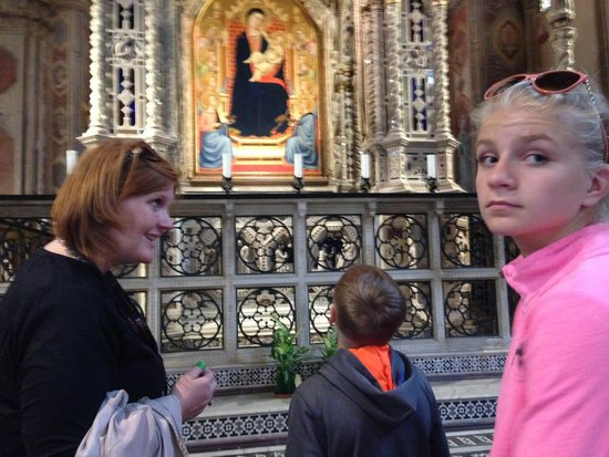 Freya's Florence Tours: Beautiful Mary ~ and Ann Sophie is beautiful too!