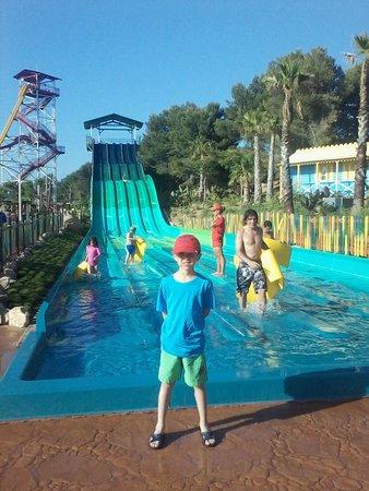 PortAventura Aquatic Park : el peke
