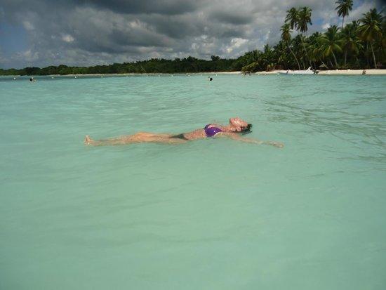Isla Saona: espectacular mar!!!