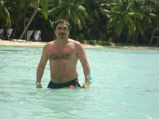 Isla Saona: playa tranquila de aguas cristalina y calida