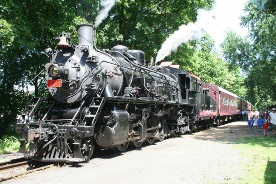Delaware River Railroad Excursions: The steam engine