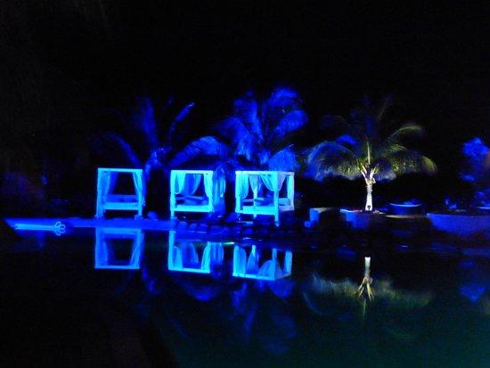 Melia Buenavista: piscine nocturne