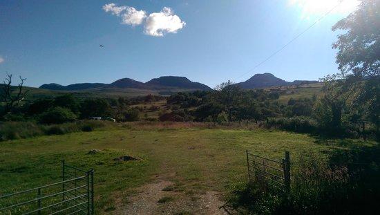 Cae Gwyn Farm and Nature Reserve : cae gwyn morning view