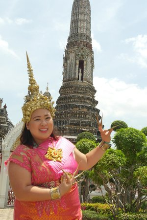 Templo del Amanecer (Wat Arun): Interesting
