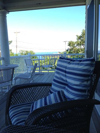 The Seafarer Inn: From the porch
