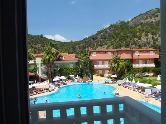 Turquoise Hotel: View from Balcony