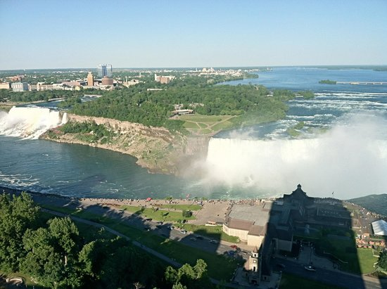 Niagara Falls : View from our hotel
