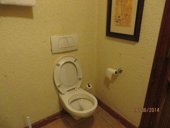 The Kingdom at Victoria Falls: toilet