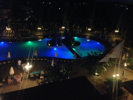 Atlantica Princess Hotel: View from balcony