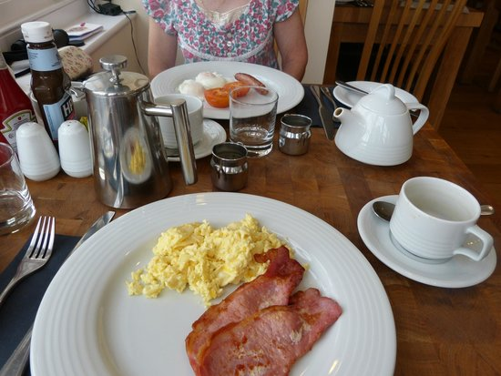 Black Lion Hotel: Excellent start to the day