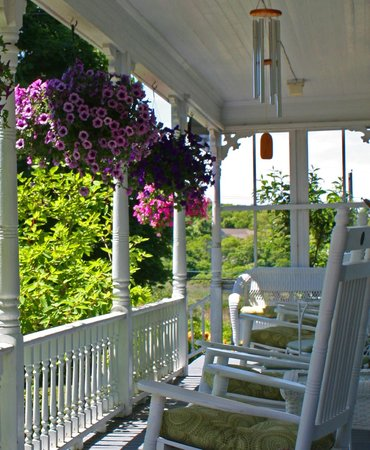 Front Porch of the Island Home Inn