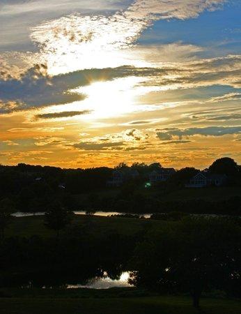 The Island Home Inn: Sunset