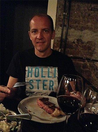 """Don Julio: """" Um bife ancho serve bem 2 pessoas"""""""